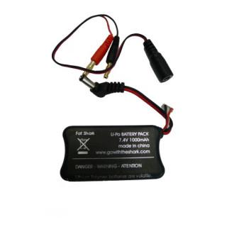 Fat Shark 7.4V 1000mAh Battery
