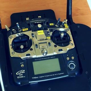 Futaba T10J used