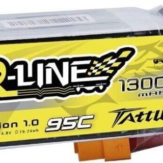 Tattu R-Line 1300mAh 95C 4S1P xt60