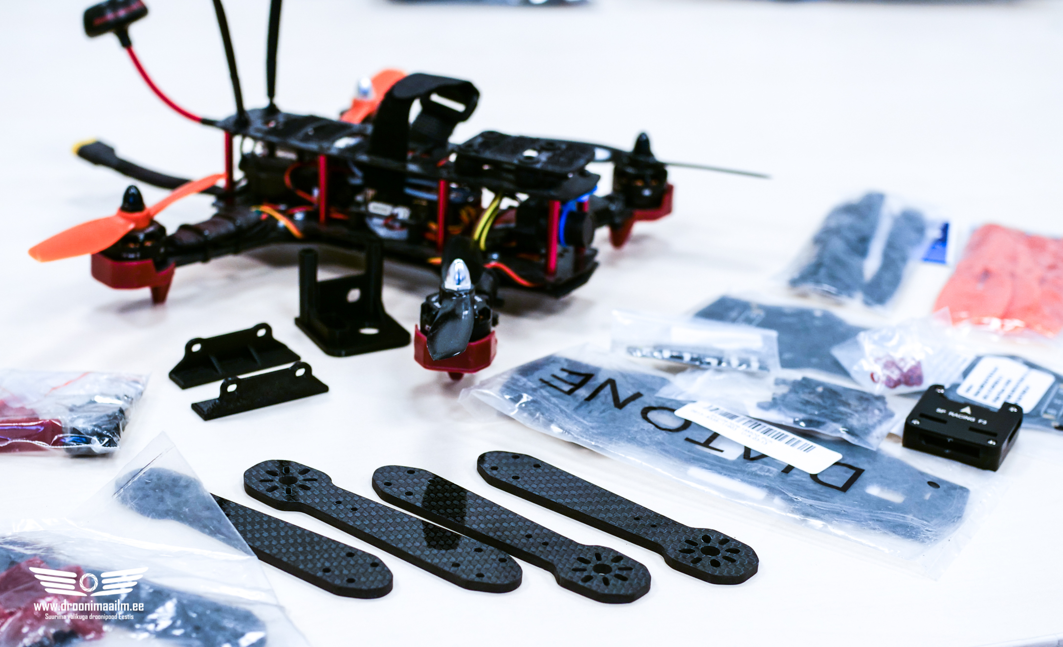 ZMR250 FPV Racer droon (ARF) (used)