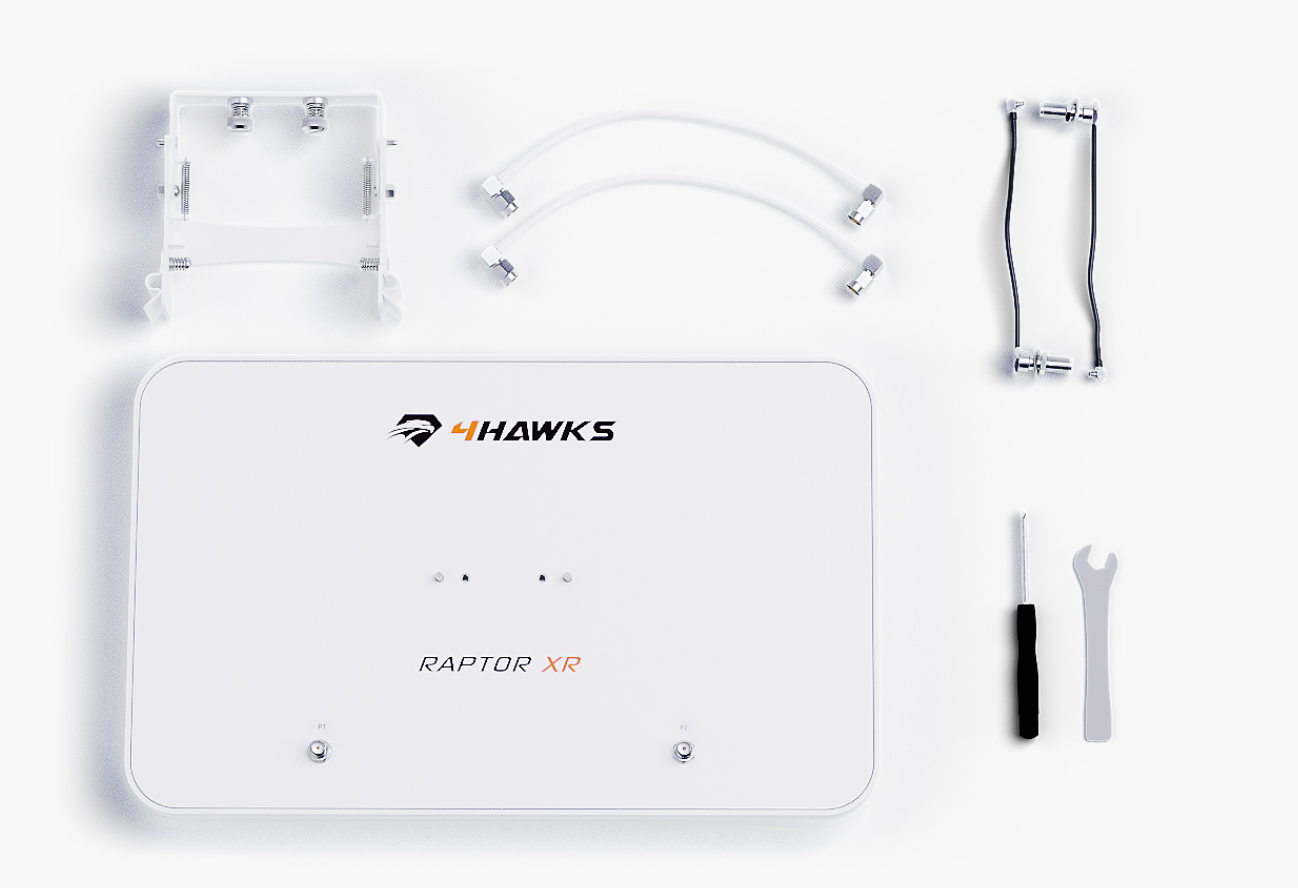 Raptor XR designed for DJI Phantom 4/Adv