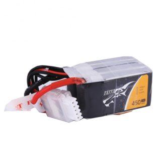 TATTU 450mAh 14.8V 75C 4S1P Lipo Battery Pack