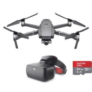 DJI Mavic 2 Zoom + Goggles RE & SanDisk 64GB Memory card