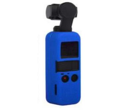 Silicone Protection & Lanyard for DJI Osmo Pocket blue